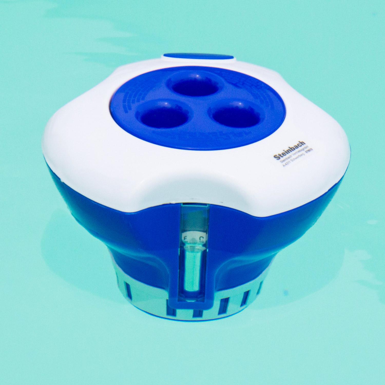 Steinbach Dosierschwimmer mit integriertem Thermometer bis 200 g Dosierbehälter