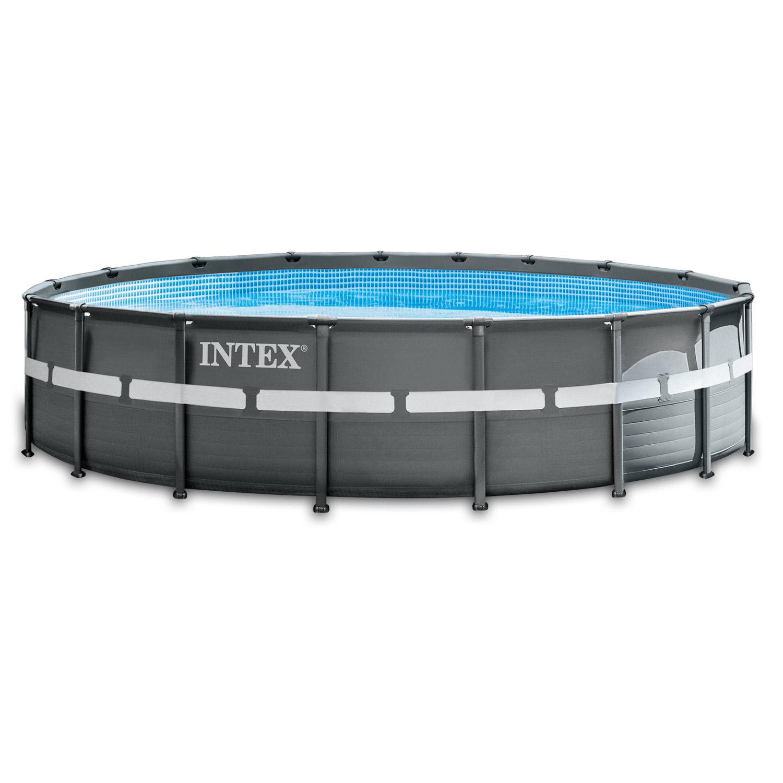 Intex Swimming Pool Ø 549 x 132 cm Frame Pool Set Ultra Rondo XTR