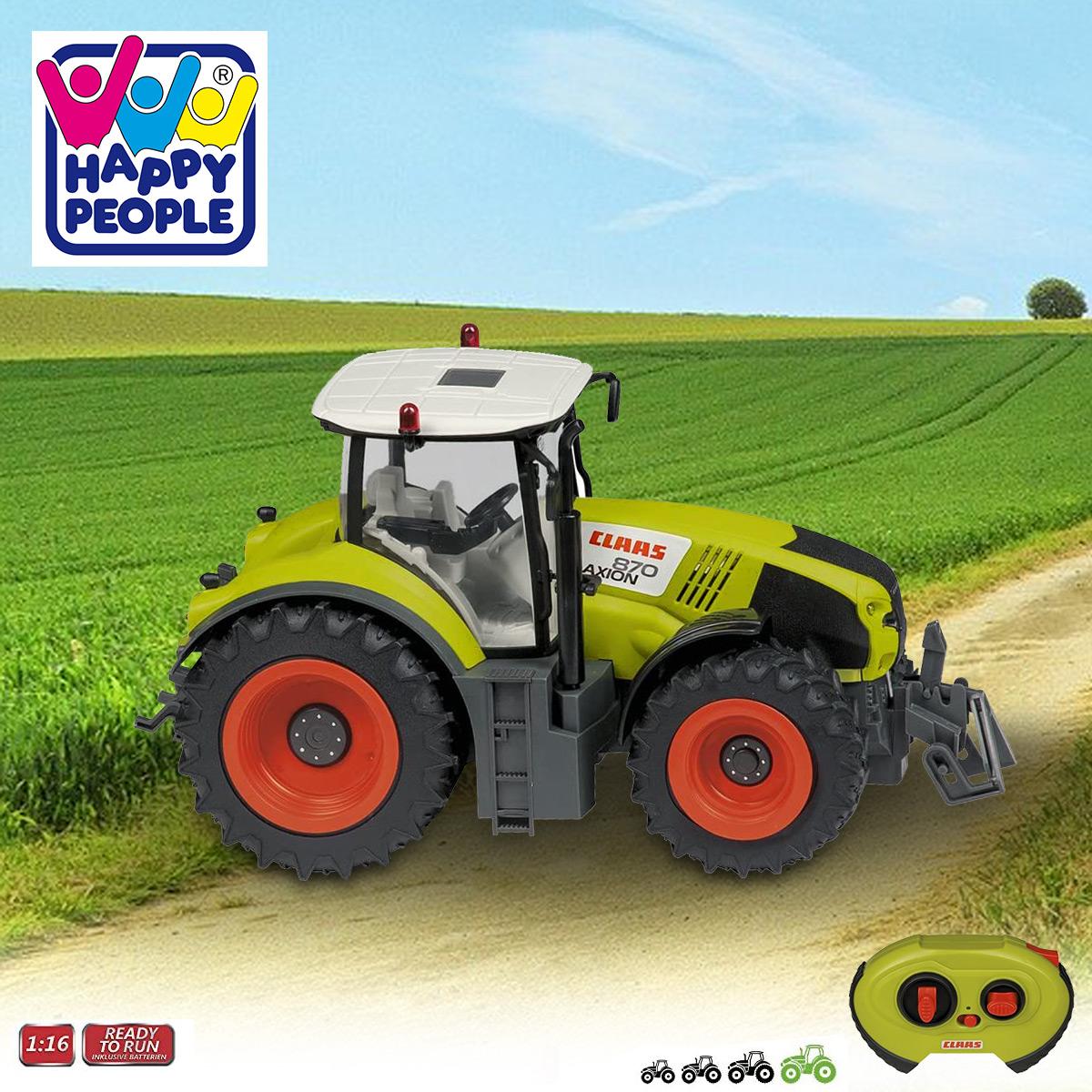 Happy People 34424 ,Claas Traktor Axion 870 RC