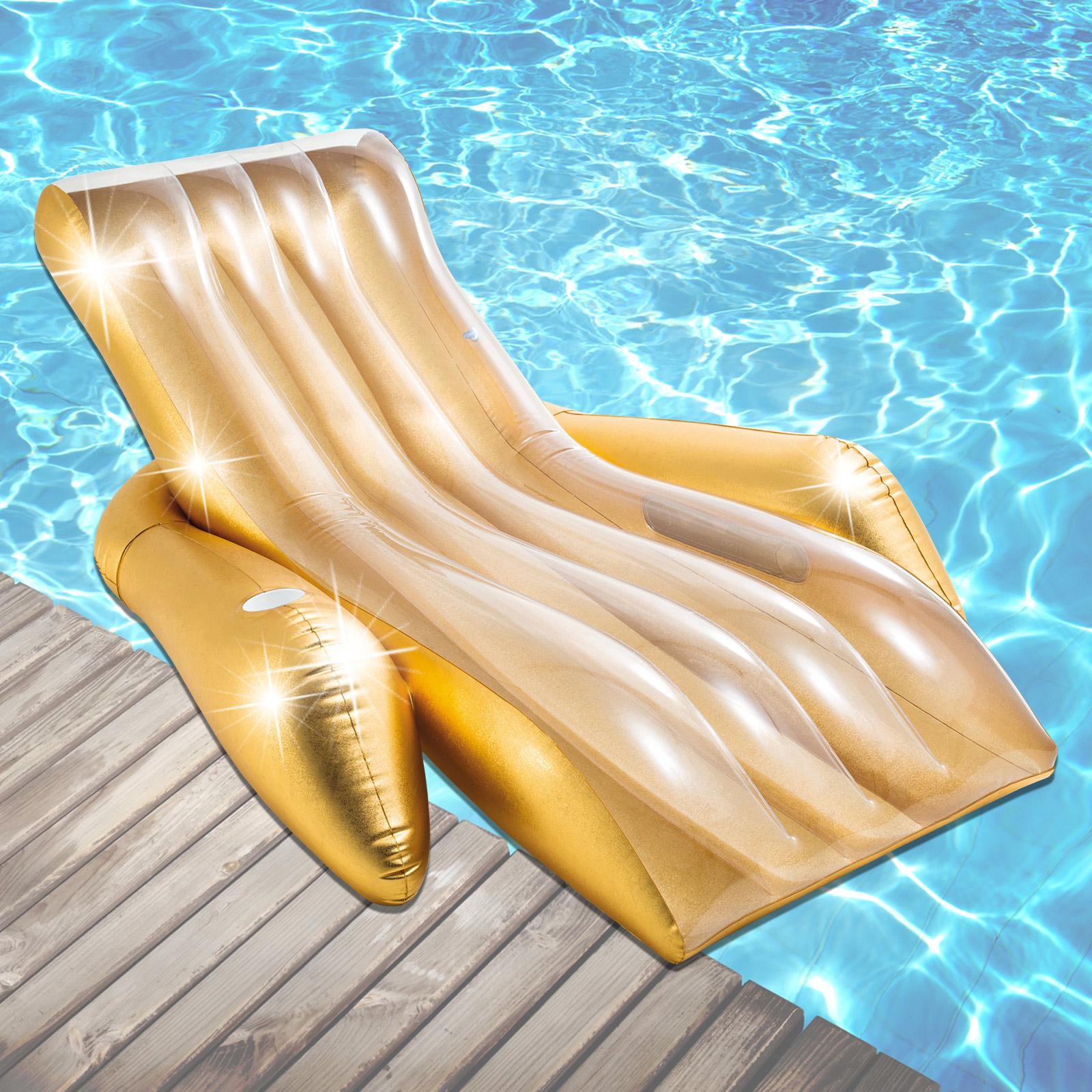 Intex Schwimmliege Pool Liege Sessel Lounge Wasserliege Badeinsel Luftmatratze