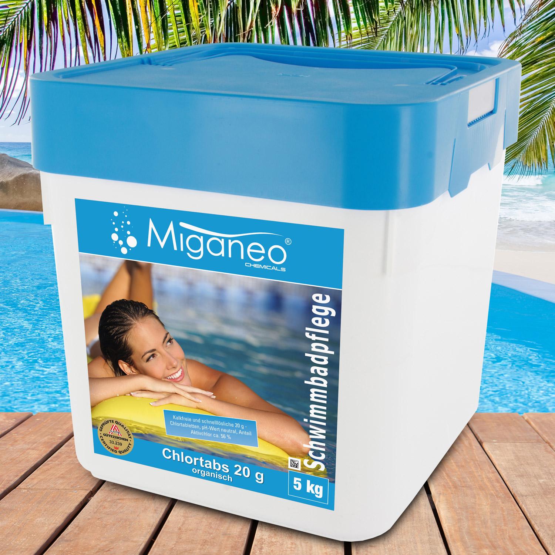 Miganeo® Chlortabs 20g organisch, 5 kg