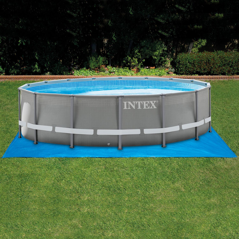 Intex Bodenschutzplane für Pool bis Ø 550cm