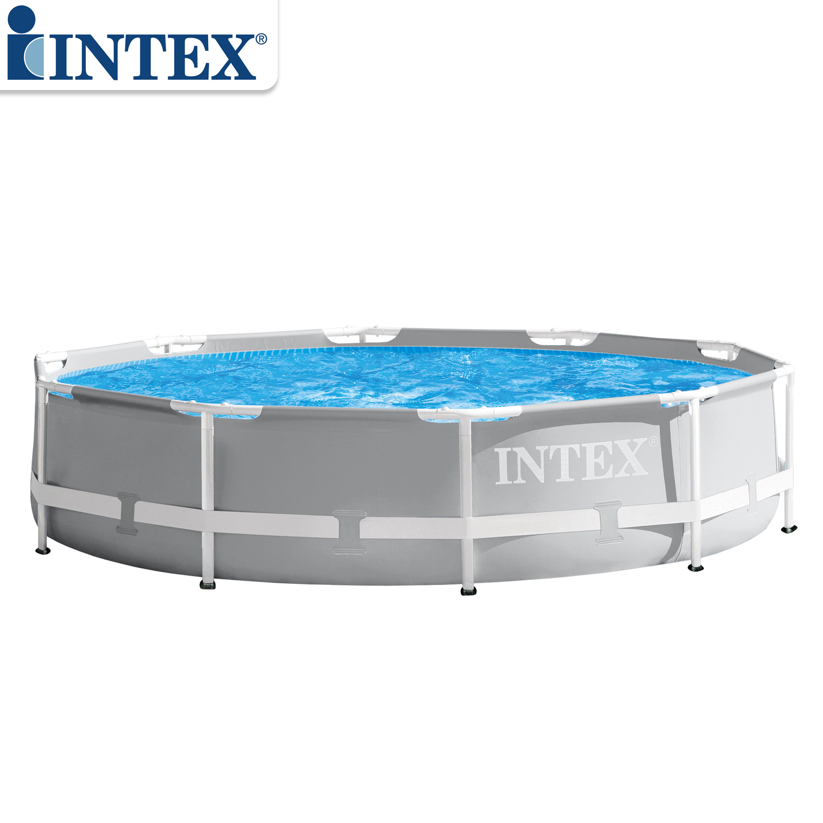 Intex Prism Frame Pool Rondo Ø 305x76 cm mit Filteranlage