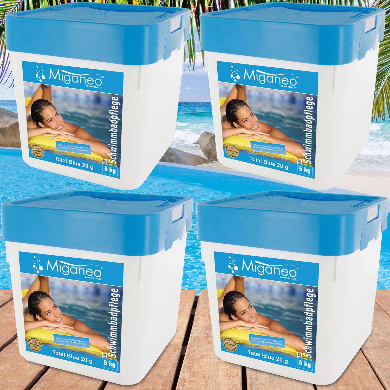 Miganeo® Blue Power Tabs 4 x 5kg  Multitabs 5 in 1