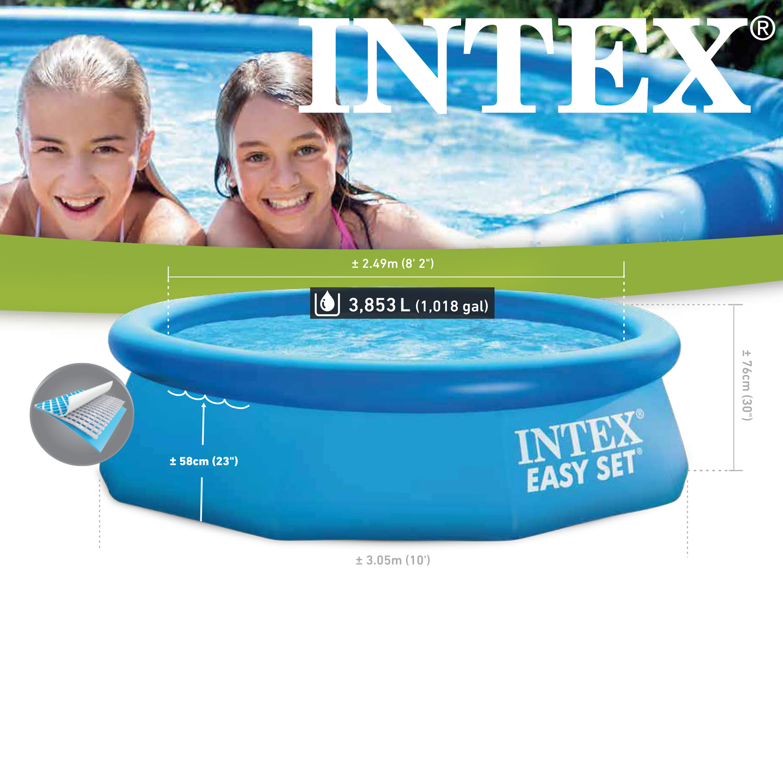 Intex Swimming Pool Easy 305x76 cm - mit Pumpe