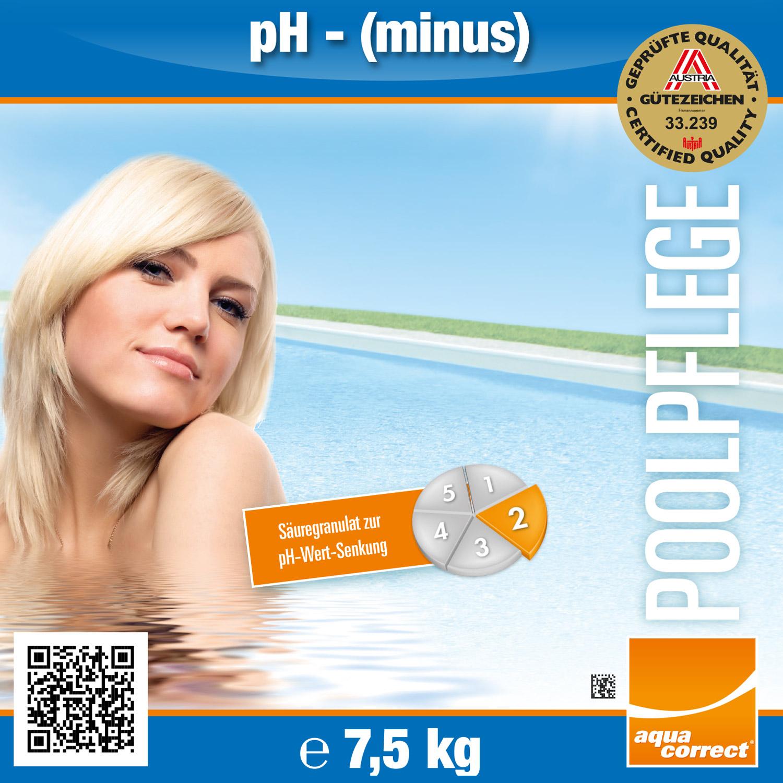 Steinbach 15,0kg Ph-Minus Granulat - ph Senker Granulat