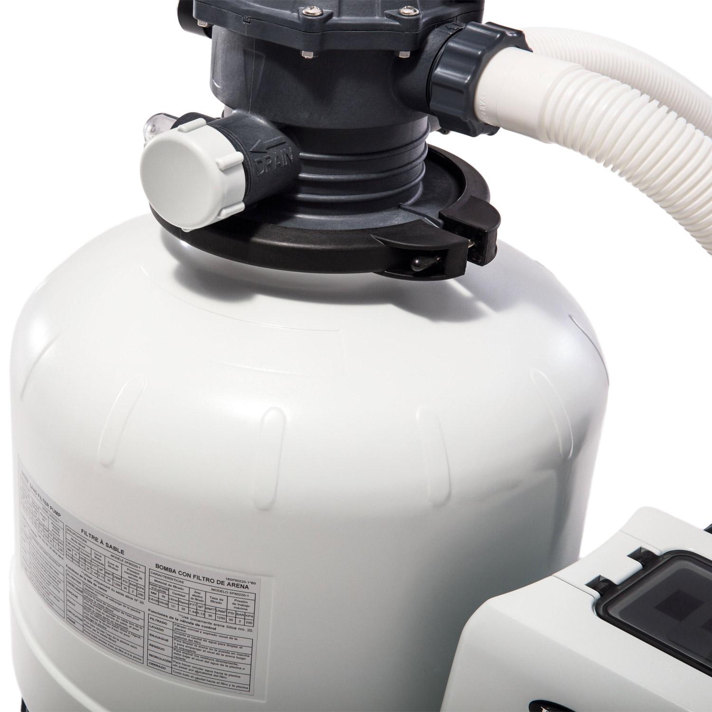 Intex Krystal Clear Sandfilteranlage® 10,5 m³ für Pools bis 36.000l