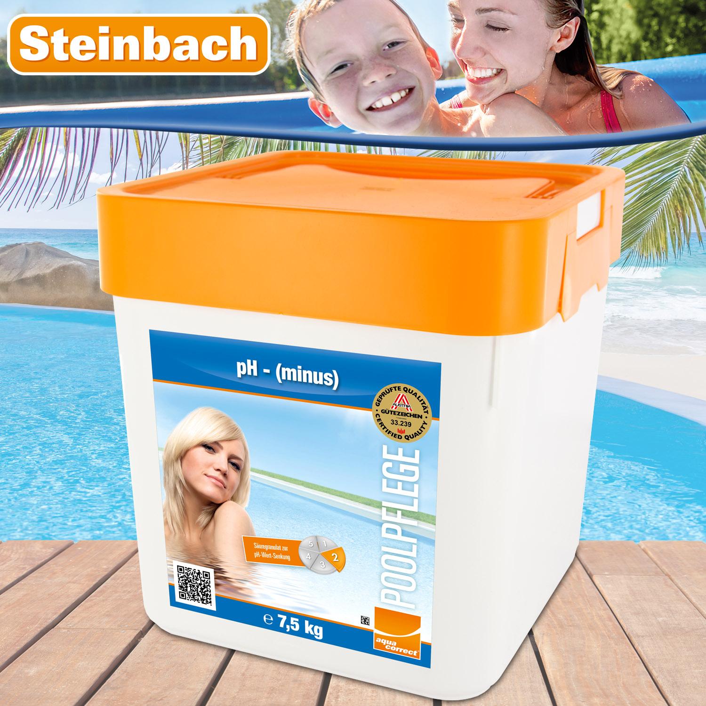 Steinbach 7,5kg Ph-Minus Granulat - ph Senker Granulat