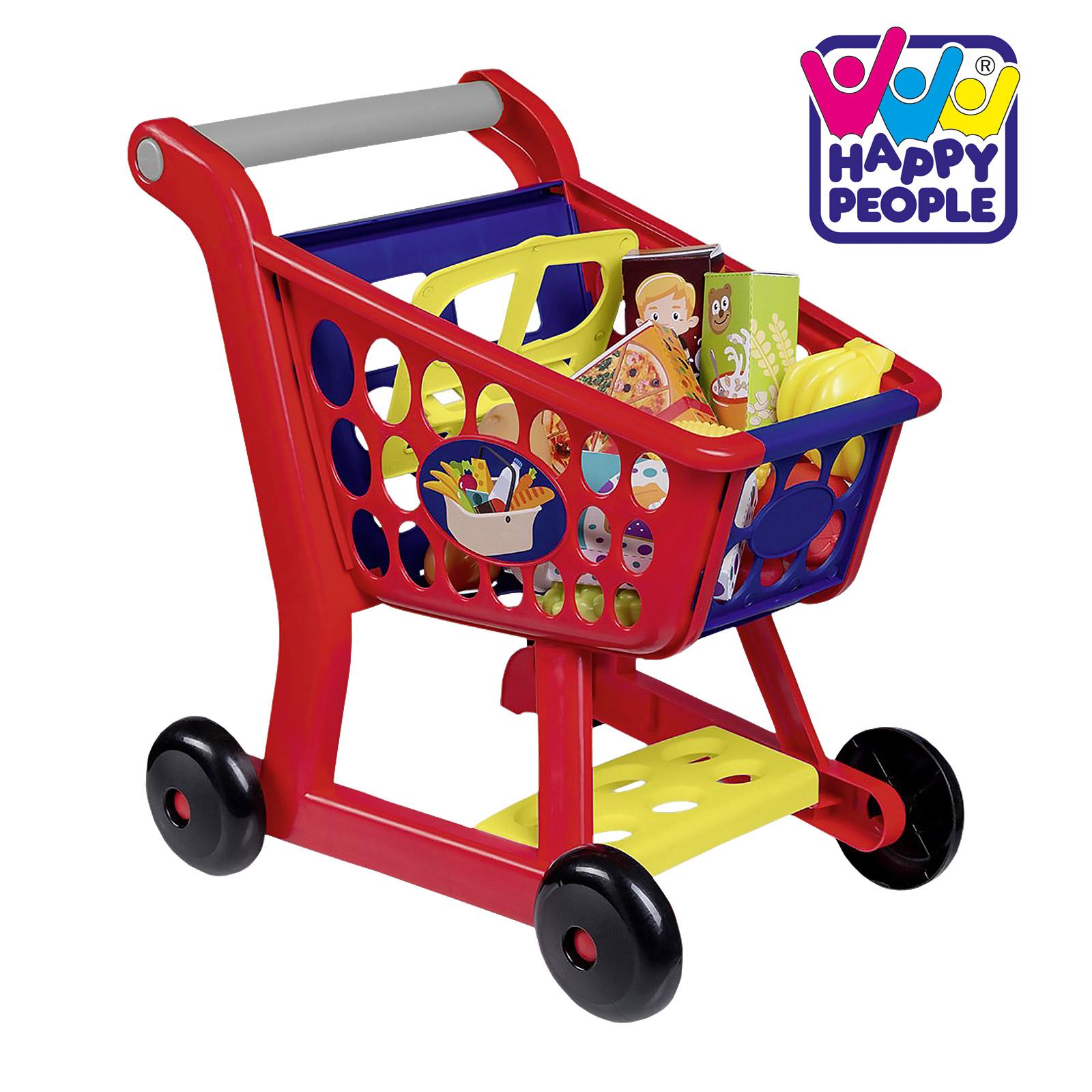 Happy People 45059 Haushaltsspielzeug Kinder Einkaufswagen