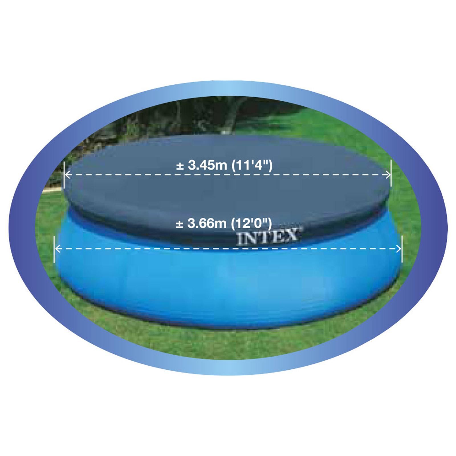 Intex Ø 366 cm Abdeckplane Easy Set Pools® für Pool