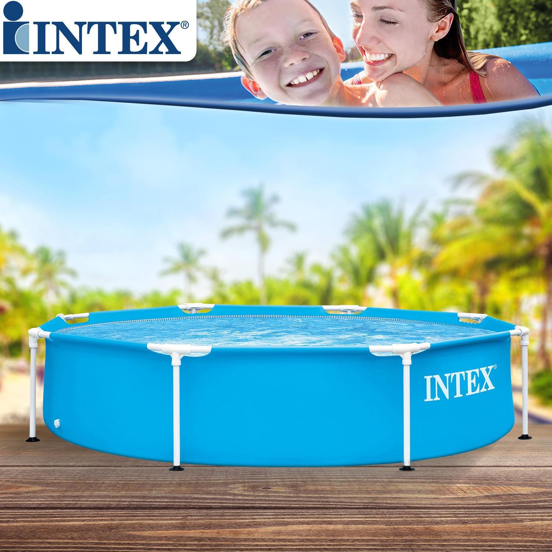 Intex Metal Frame Pool Ø 244 x 51 cm - ohne Zubehör