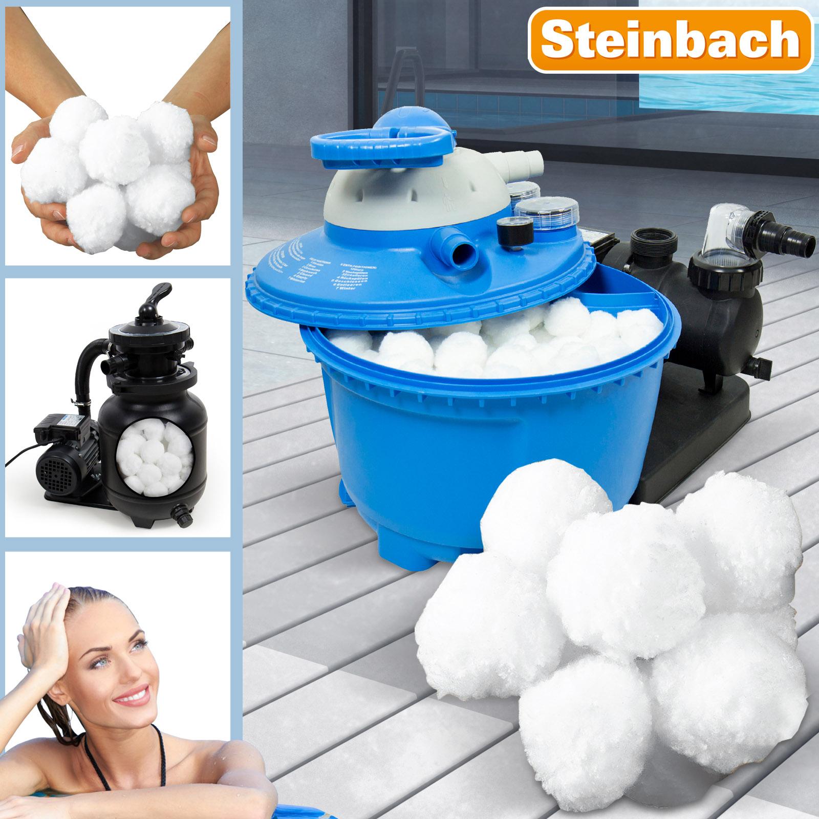 Filter Balls 700g für Sandfilter alternativ zu 25kg Filtersand