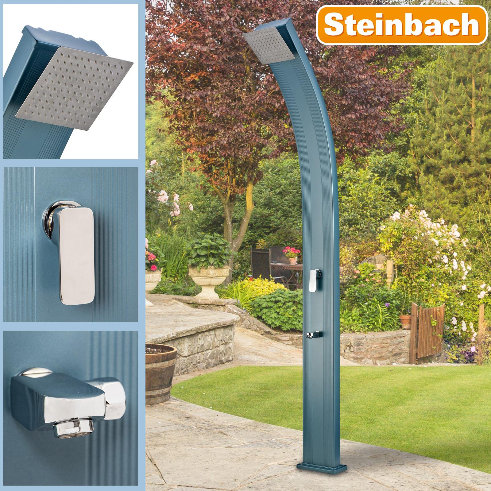 Steinbach Solardusche Slim Line Deluxe blau 49047