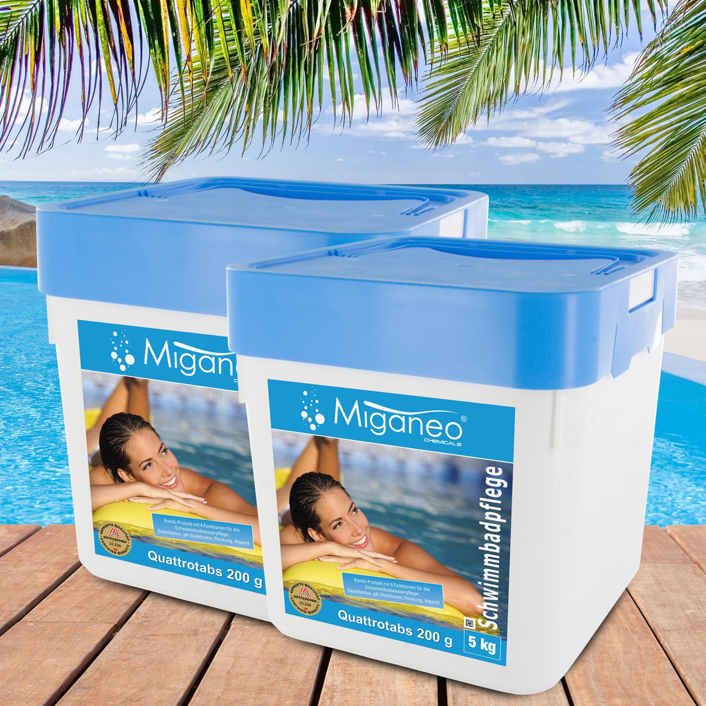 Miganeo® Quattrotabs 200g organisch, 2 x 5 kg