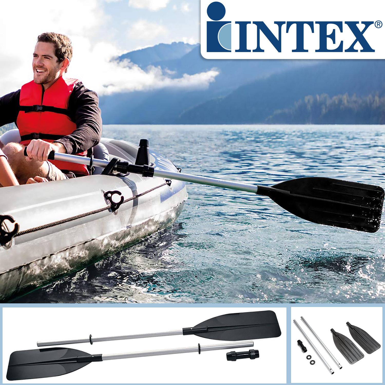 Intex Paddel Kayak-Paddel Set 2 Einzelpaddel je 122 cm mit Konnektor