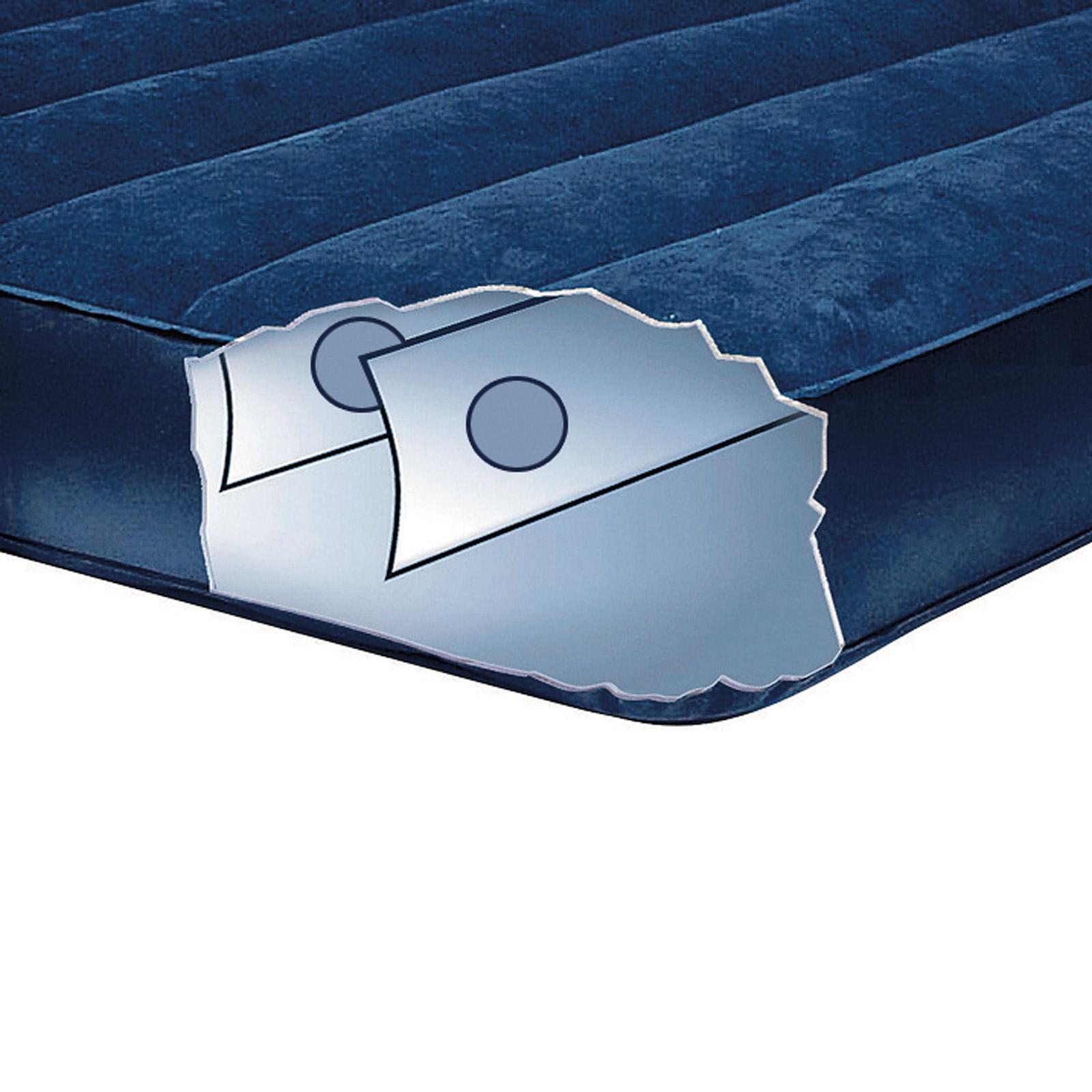 Intex Luftbett 203x183x25 cm blau Gästebett Luftmatratze