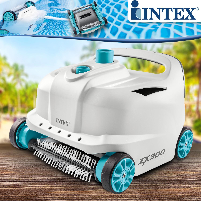 Intex 28005 Deluxe Auto Pool Cleaner ZX300 Boden-und Wandsauger