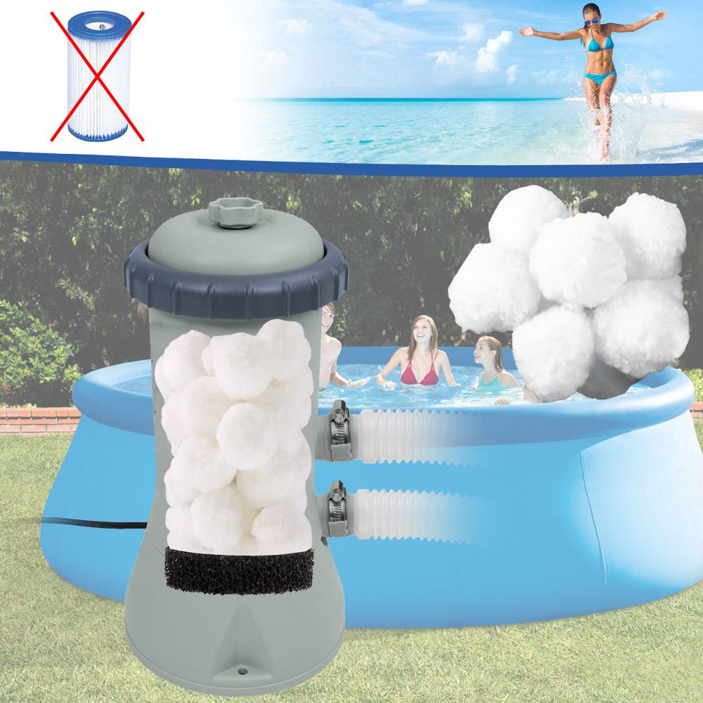 Miganeo® Filter Balls statt Filterkartusche A für Filterpumpe