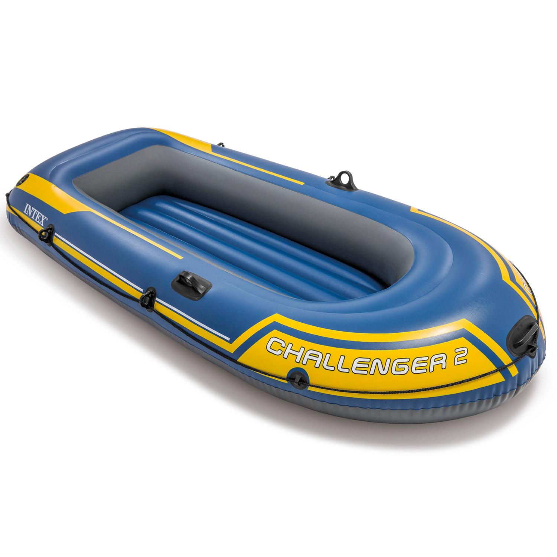 Intex Boot Schlauchboot Angelboot Ruderboot Challenger 2 Set 68367