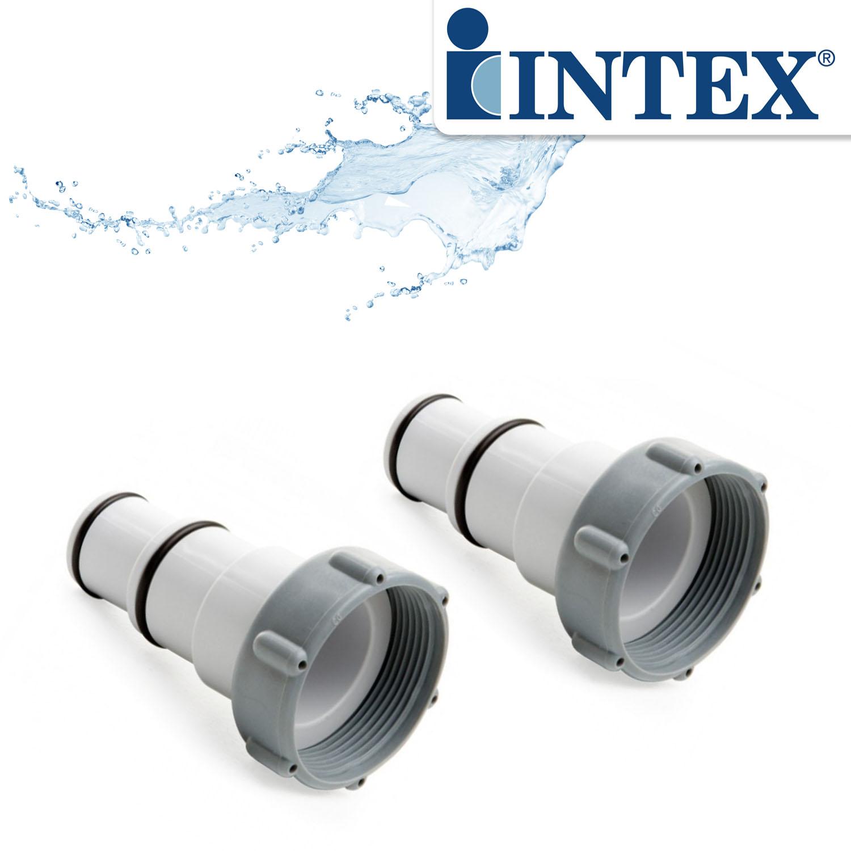 """2x Intex """"A"""" Spezial Adapter für Pool mit Innengewinde"""