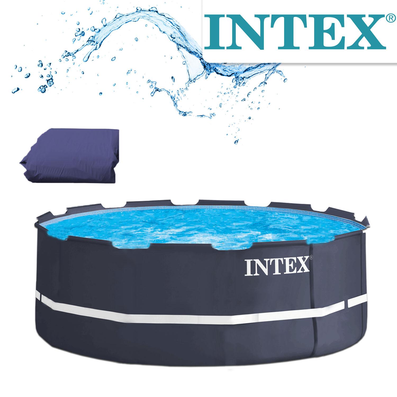 Intex Frame Ersatzfolie für Pool 366x122 navyblue