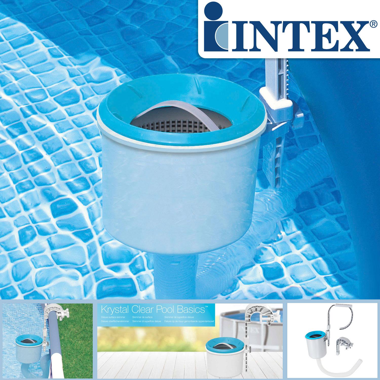 Intex Oberflächenskimmer Deluxe für Easy und Frame Pools Skimmer Einhängeskimmer