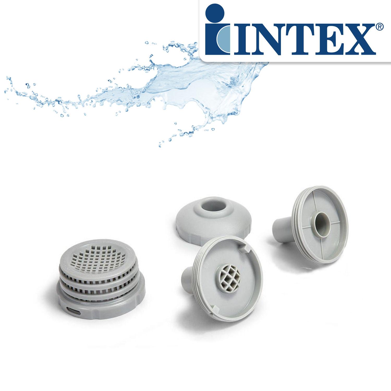 Intex Stutzenset Propfenset für Anschluss von Pumpen