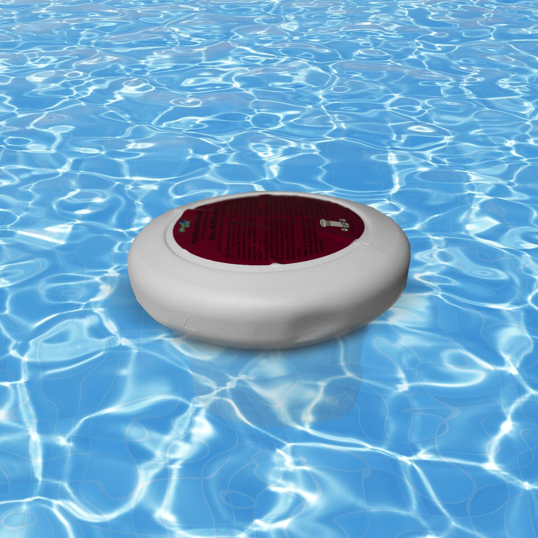 Multifunktionsblock im Einweg-Dosierschwimmer