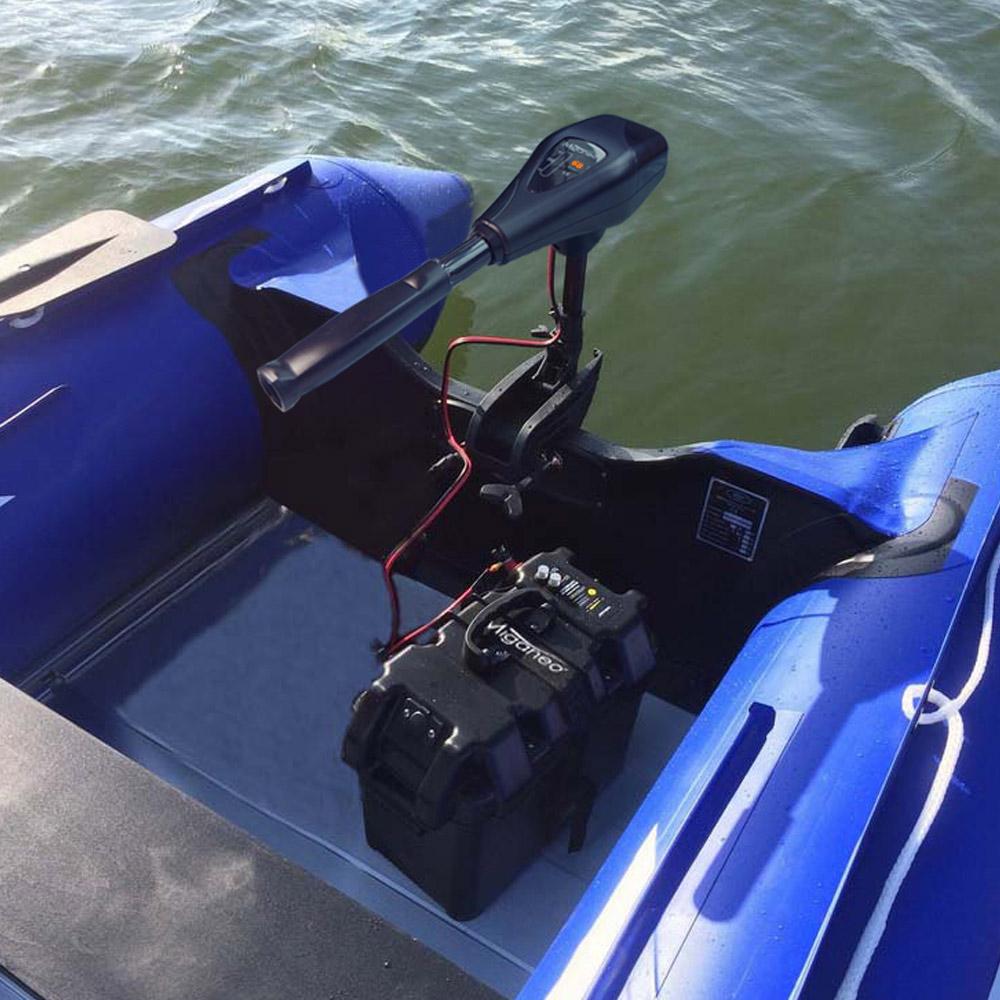 Miganeo®  Bootsmotor Elektromotor für Schlauchboot TRS 68