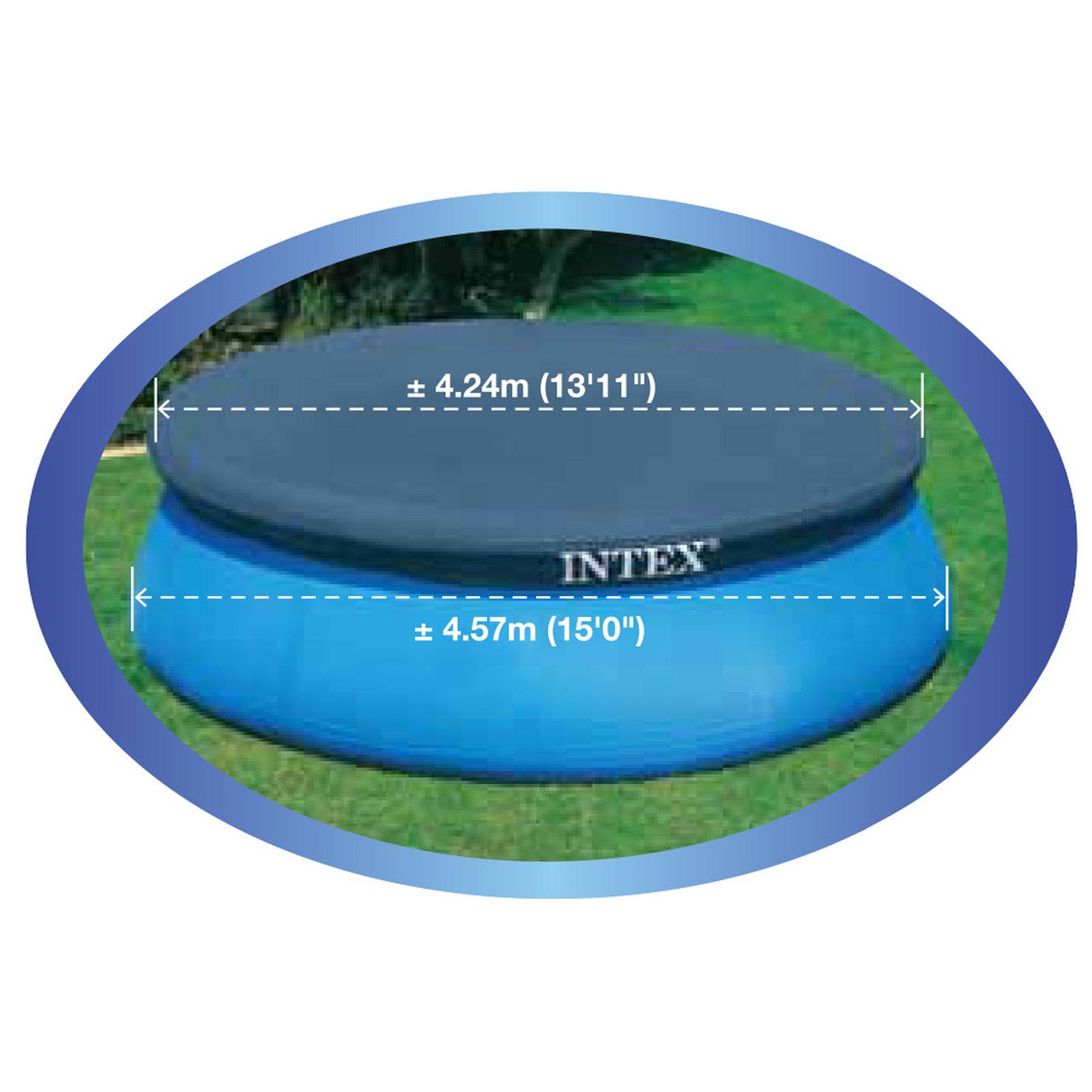 Intex Ø 457 cm Abdeckplane Easy Set Pools® für Pool