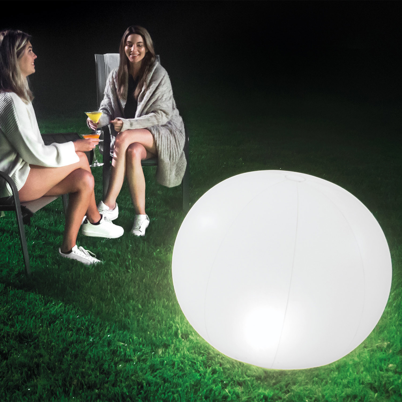 Intex 68695 LED Schwimmleuchte Globus Pool Garten  89 x 79 cm