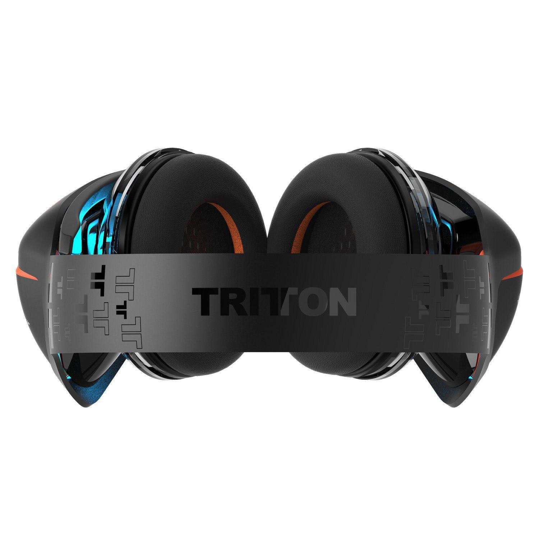 Tritton ARK 100 Stereo Headset Kopfhörer schwarz/orange 3,5mm over ear
