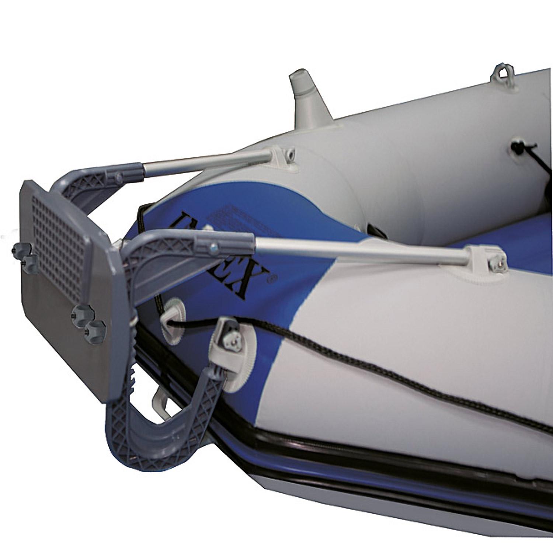 Intex Motorbootset Schlauchboot Seahawk 3 Heckspiegel Elektromotor