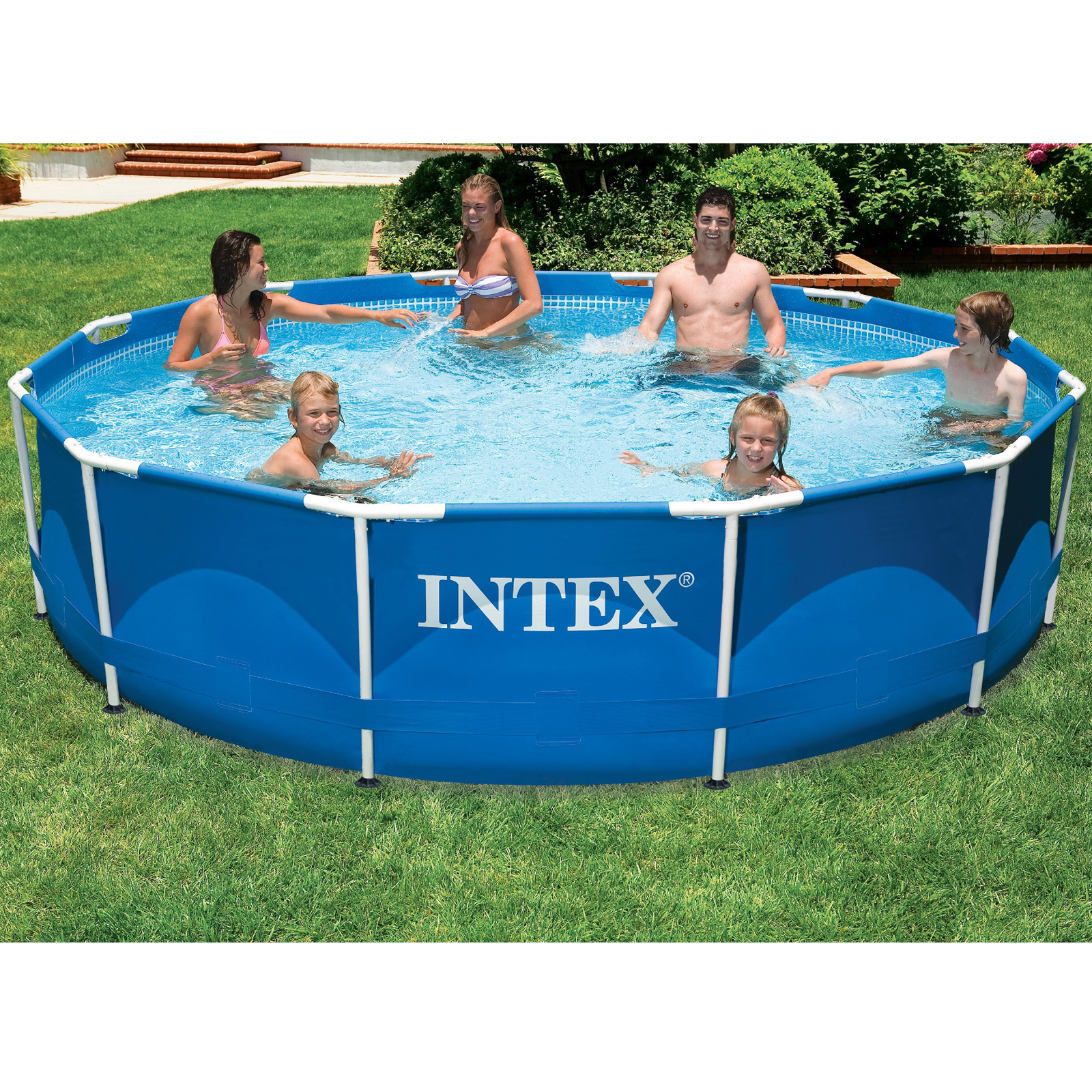 Intex Ø 366 x 84 cm Frame Pool Komplettset
