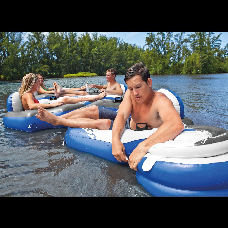 Intex 58854 Schwimmsessel River Run Connect Lounge