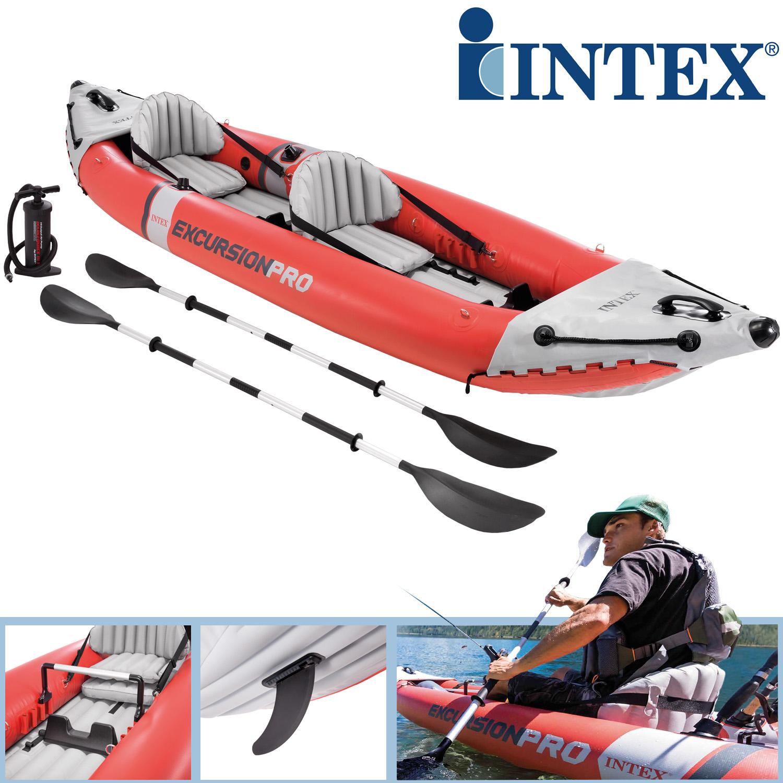 Intex 68309 Excursion Pro K2 Kajak Set 384 x 94 x 46 cm