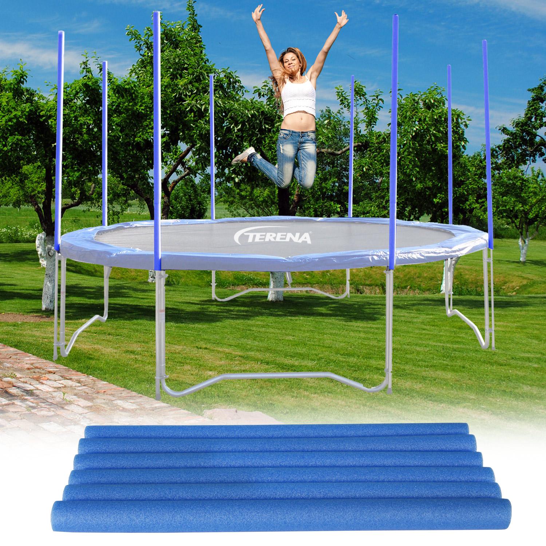 Terena® 8 Polster für Sicherheitsnetz - Stangenschutz für Trampoline