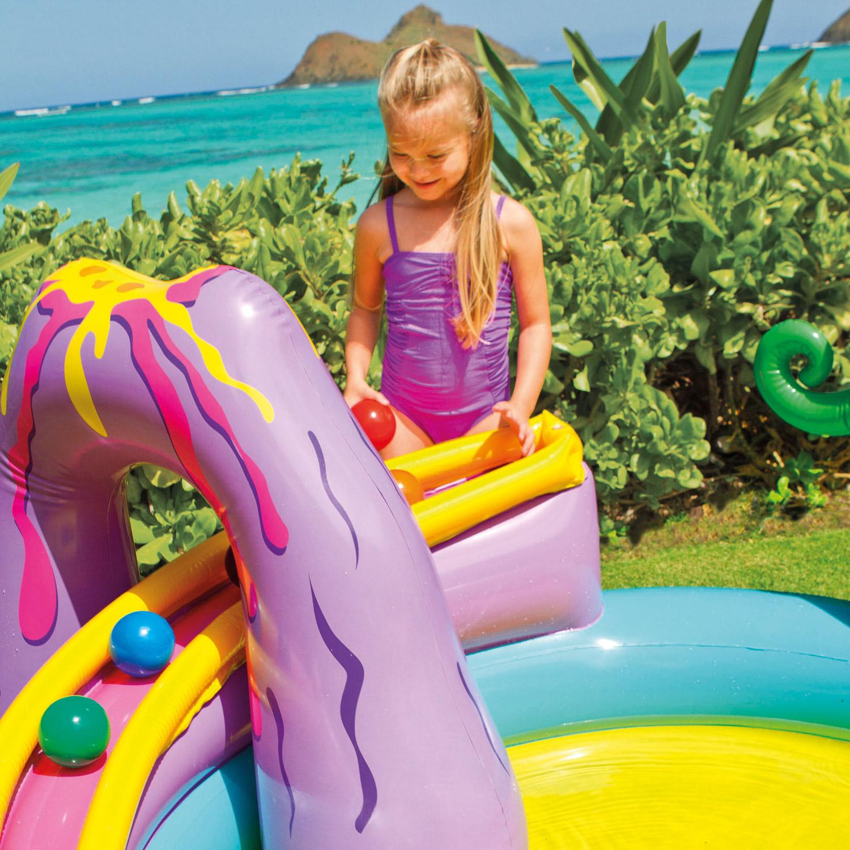 Intex 57135NP Dinoland Play Center  333x229x112cm mit Rutsche