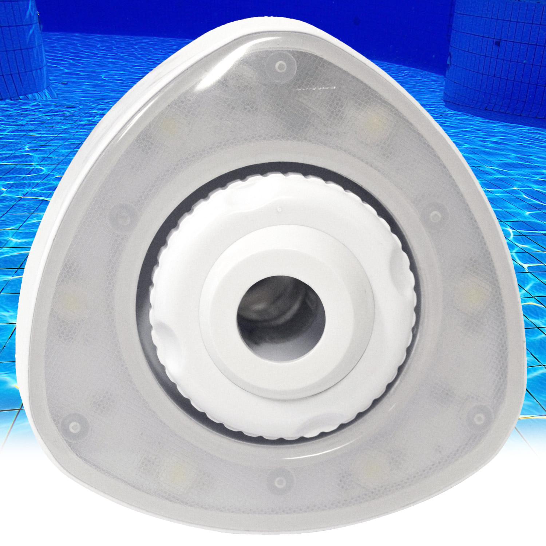 Jet Light - Einlaufdüse mit LED-Beleuchtung für Stahlwand Pool