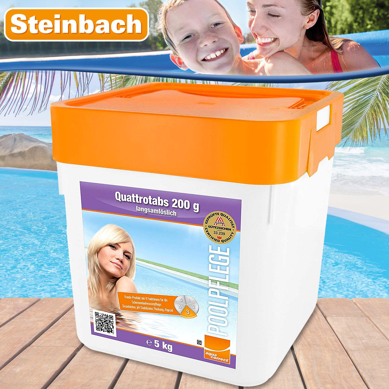 Steinbach Quattrotabs 200g organisch, 5 kg