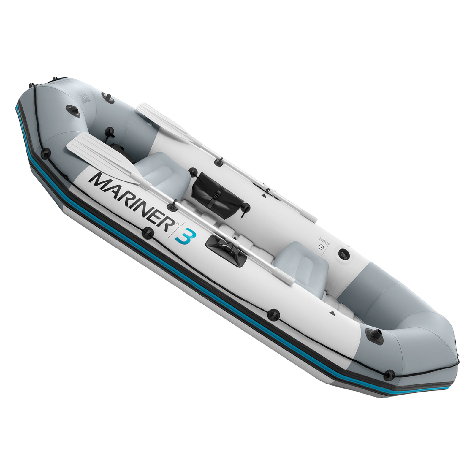 Intex 68373 Boot Schlauchboot Angelboot Aufr Motorboot Mariner 3