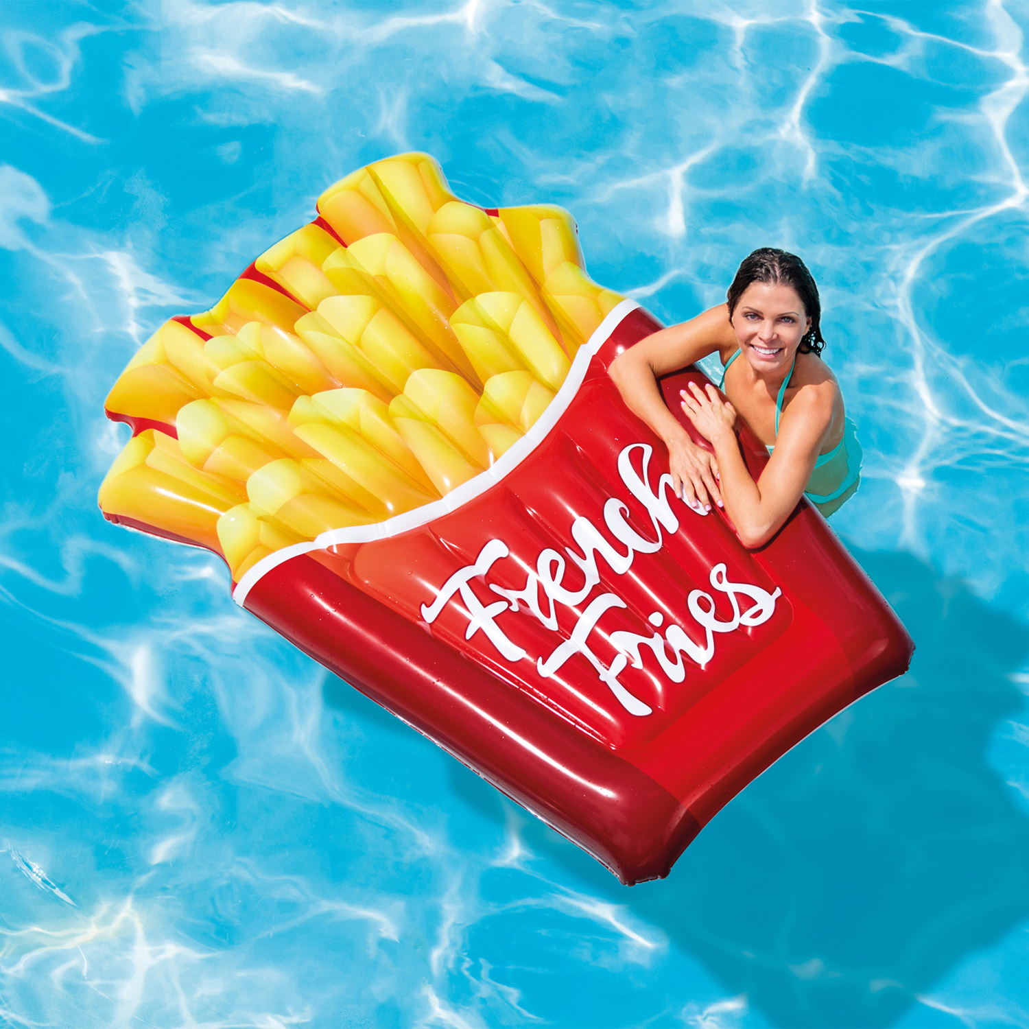 Intex 58775 Poolliege French Fries Pommes 175x132cm